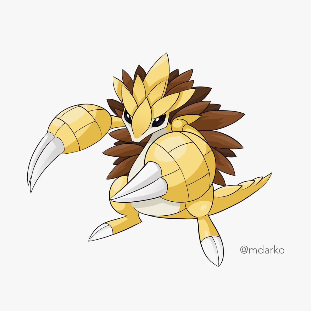 Mega Sandslash by artofmarco on DeviantArt