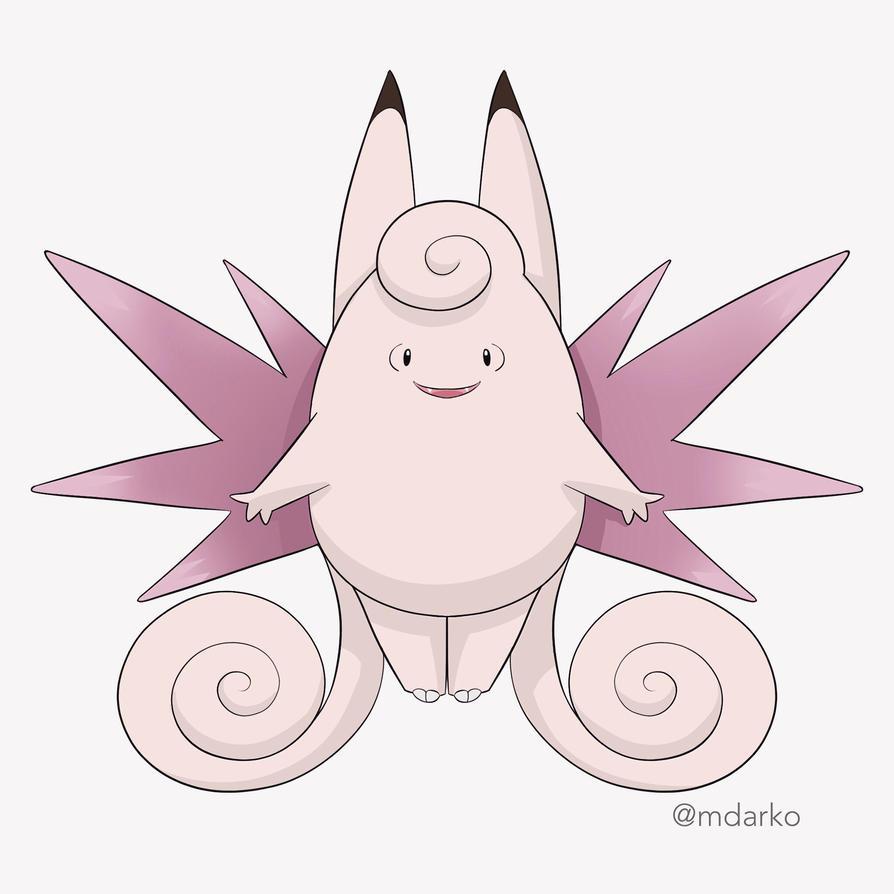 Pokemon Mega Clefable