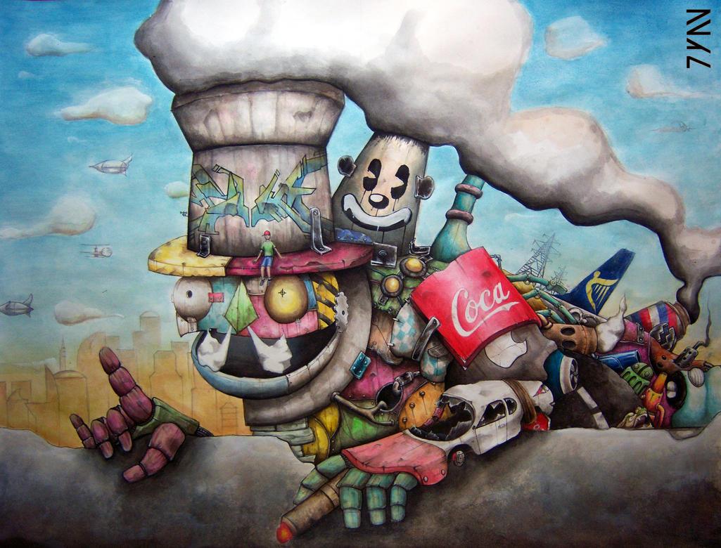Trashmaster by Juan0G