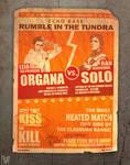 ORGANA vs SOLO Fight Poster