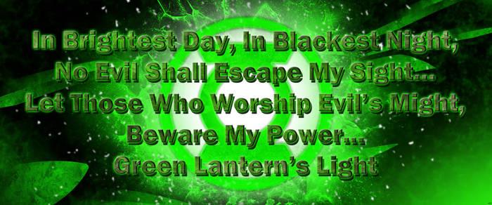 Green Lantern Oath