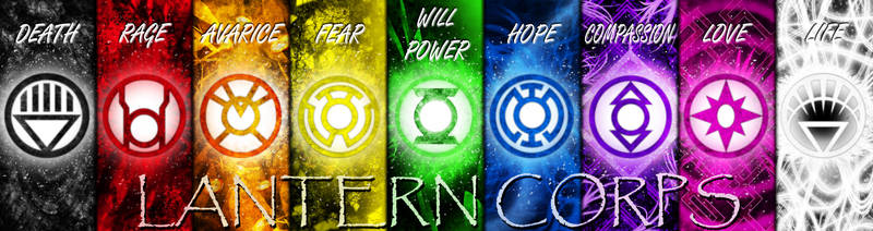 Lantern Corps by Groltard