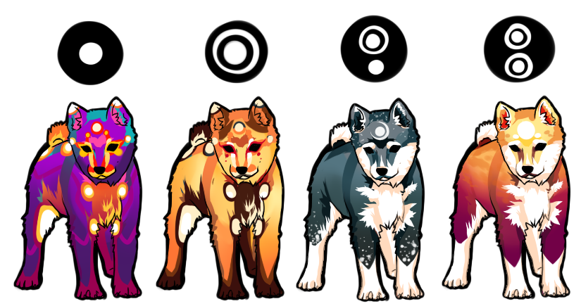 Shiba Adoptable Batch 3 - SOLD by Inanagi