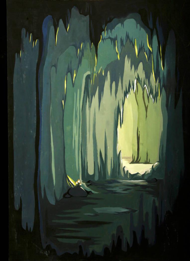 Cave Dwelling 2 by Azraetine