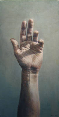 'Hand' - retouched