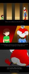 Undertale AU- Papyrus no longer believes in you... by Foxy-Sierra
