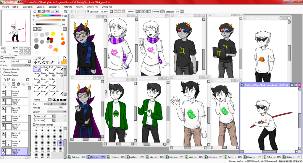 Homestuck dating sim deviantart