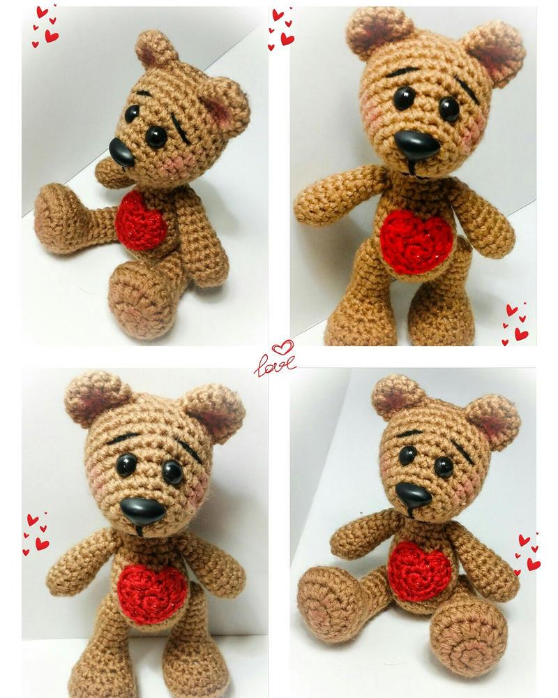 Tiny Amigurumi Bear Pattern : PinkCrochet (Tatiana Rodriguez) DeviantArt