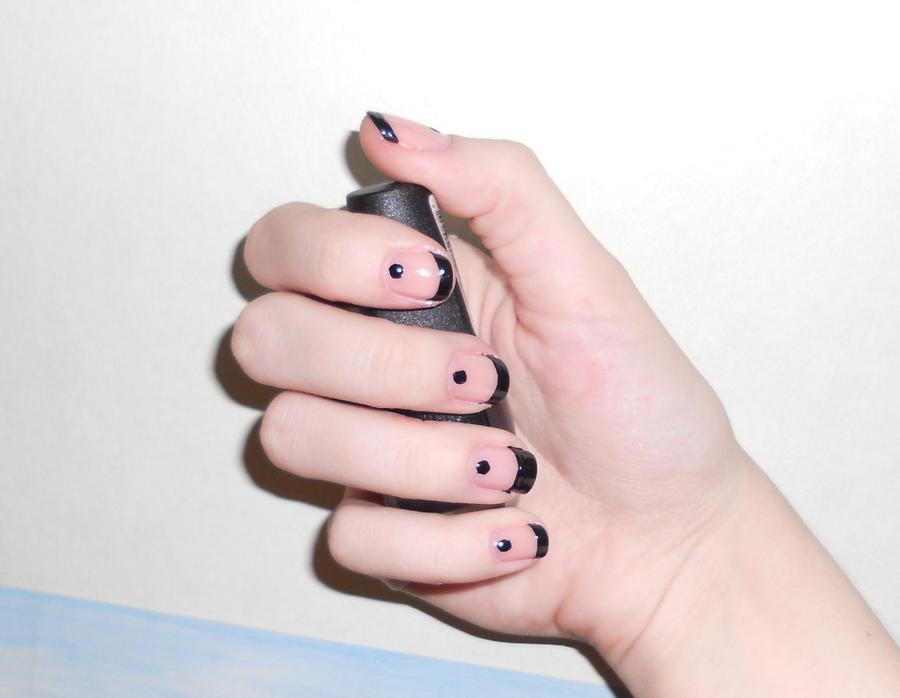 Simple Cute Nail Art By Floweri19 On Deviantart