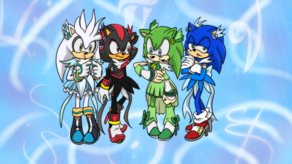 sonic x amy and tails