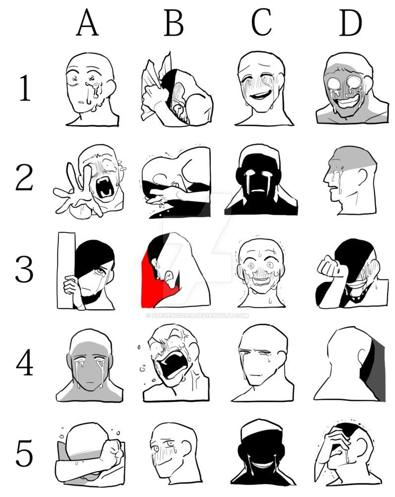 Expression Draw Meme by stevencigan on DeviantArt