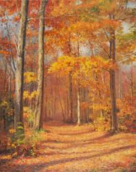 Fall by MingYou-Xu