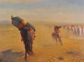 Horseman II by MingYou-Xu