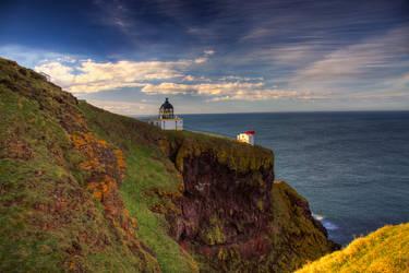 St Abb's light house by quallArt