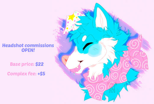 headshot commissions open