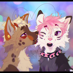 Kiss YCH for Rayawoos