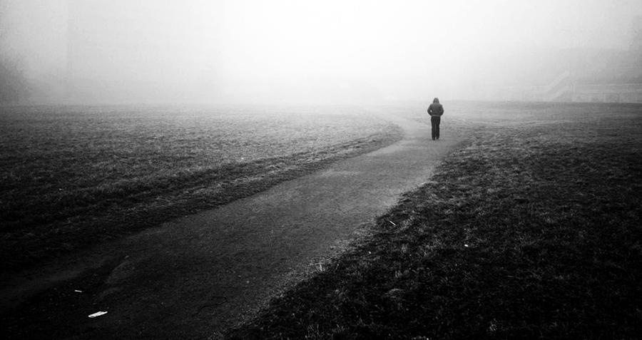 Misty Morning B/W version
