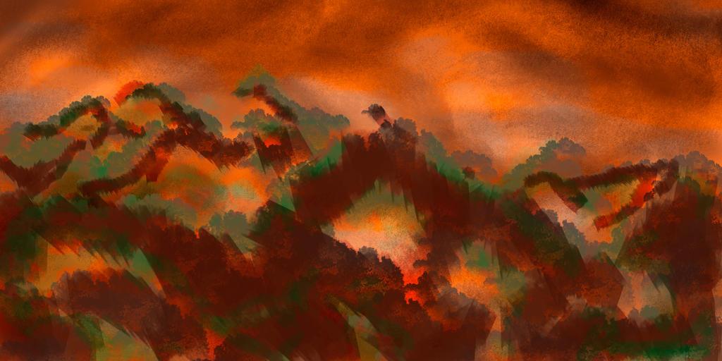The Burning Jungle by nilfgaad