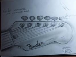 Fender Stratocaster by justTattoo