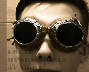 Iron Sunglasses by unwirklich