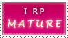 RPStamp Roleplay Mature by PharaohQueen