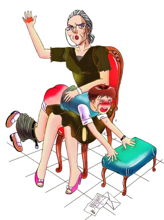 f/m spanking