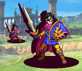 Erdrick - Dragon Quest - [PixelArt] by WaterPixelArt