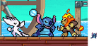 Stitch in Rivals of Aether [Fanmade] by WaterPixelArt