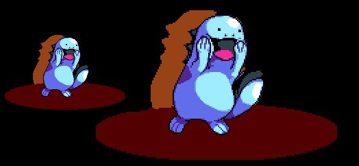 Quagsire - Pokemon - [PixelArt]