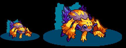 Galvantula - Pokemon - [PixelArt]