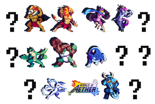 Rivals of Aether - [PixelArt]