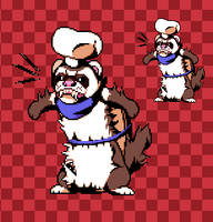 Angry Ferretoni - [PixelArt]