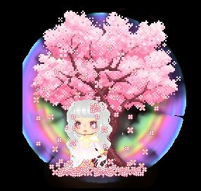 { FFC #38 - Nature }-- Sakura trees blossoming by Yukithegummybear