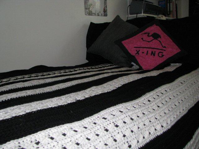 Afghan - Liz's Dorm Bed