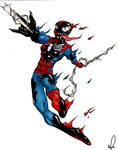 SPidey venom morph-colors