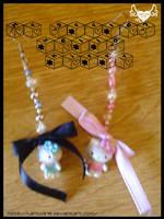 Earrings 2 By HelloKitty by lamu1976