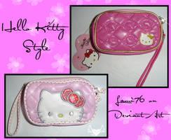 Portaeuro o ipod Hello Kitty by lamu1976