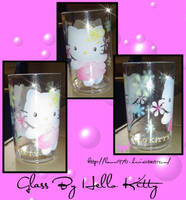 Glass By Hello kitty Style by lamu1976