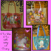Bags in pvc Hello Kitty Style by lamu1976