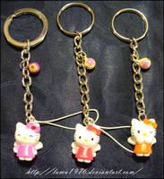 Keychan Hello Kitty by lamu1976