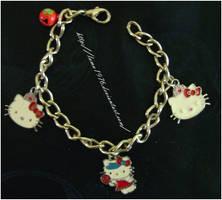 Armlet Hello Kitty by lamu1976