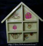 Little house decoupage by lamu1976