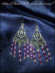 Earrings swaroski by lamu1976