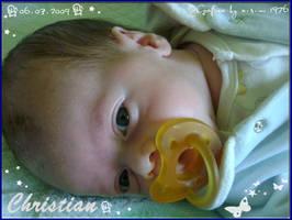 Mio figlio Christian by lamu1976