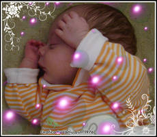 Christian mentre dorme by lamu1976