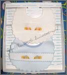X-stitch bavaglini paperelle by lamu1976