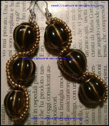 orecchini pietre perline 2 by lamu1976