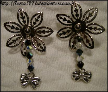 Orecchini swaroski ribbon by lamu1976