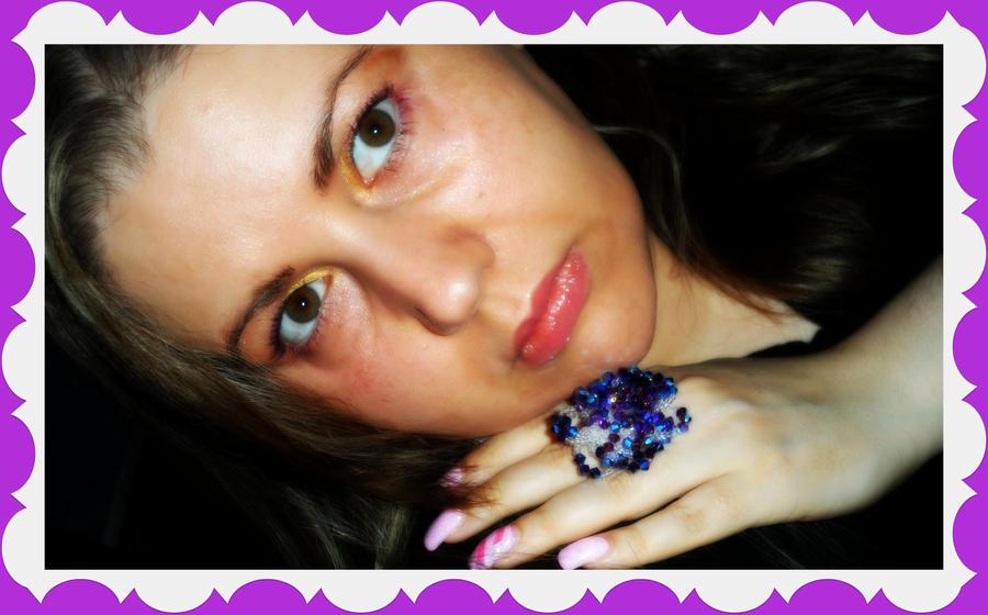 io con il mio bellissimo anello by lamu1976