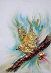 bird unfinished.......... by lovelycristina